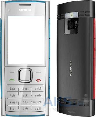 Аналоги Корпуса для мобильного телефона Nokia X2-02, красный, копия ААА
