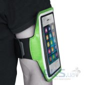 "Вид 5 - Чехол Jabees Sports Armband Pouch ARM 6 Green 5.2""-5.5"""