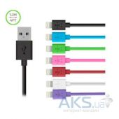 Вид 3 - Кабель USB Belkin Lightning to USB ChargeSync Cable for iPhone 1.2m Violet (F8J023bt04-PRhc)