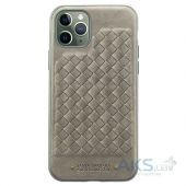 Чехол Santa Barbara Polo and Racquet Club Ravel Leather Apple iPhone 11 Pro Gray