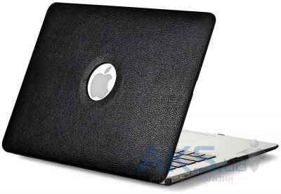 Чехол Kuzy Leather Case for MacBook Pro 13(with Retina display) Black