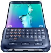Вид 6 - Чехол Samsung Keyboard Cover Series G928 Galaxy S6 Edge Plus Blue Black (EJ-CG928RBEGRU)