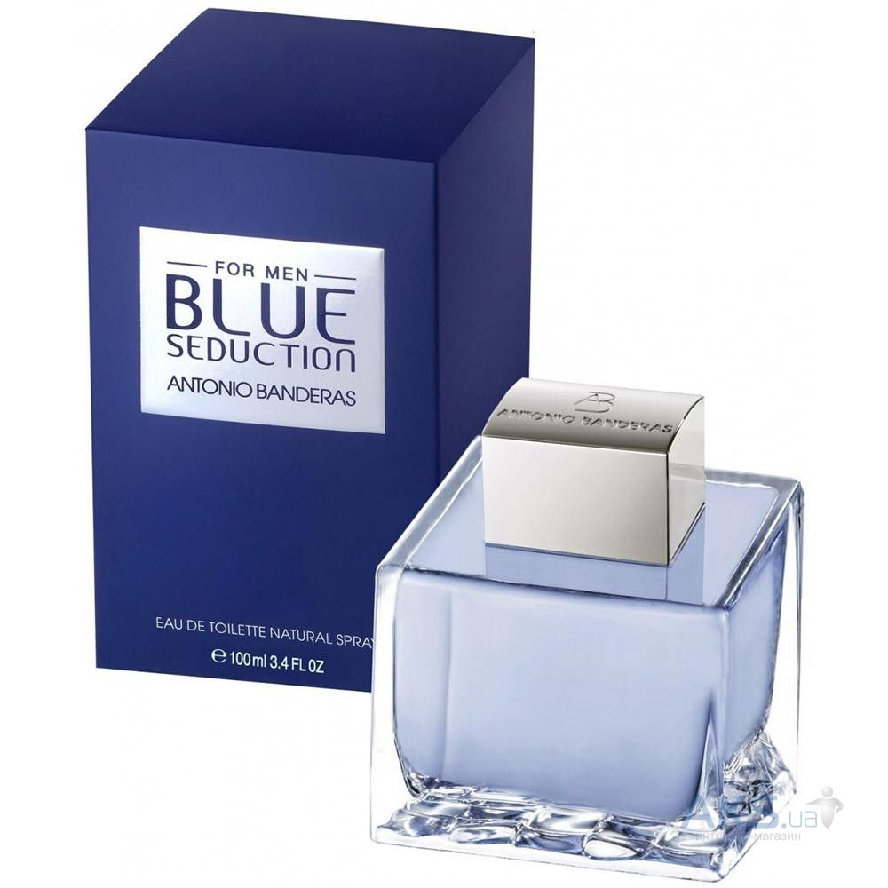 Antonio Banderas Blue Seduction For Men Туалетная вода 30 мл