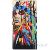 Чехол 1TOUCH Silicone Print Lenovo P70 Awesome Graffiti