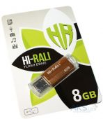 Флешка Hi-Rali Corsair Series 8GB USB 2.0 (HI-8GBCORBR) Bronze