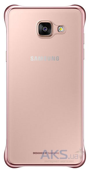 Чехол Samsung Clear Cover Series A710 Galaxy A7 2016 Rose Gold (EF-QA710CZEGRU)