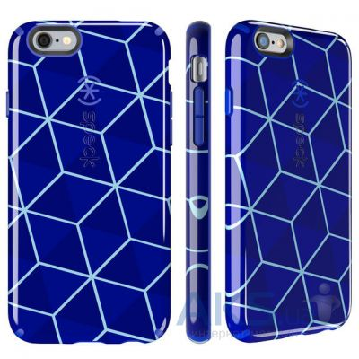 Чехол Speck CandyShell iPhone 6, iPhone 6S Inked Stacked Cube Blue/Raincoat Blue (SP-73774-5100)