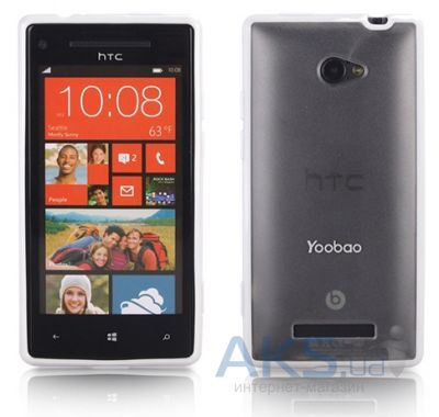 Чехол Yoobao 2 in 1 Protect case for HTC 8X Accord C620e White (PCHTCT8X-WT)