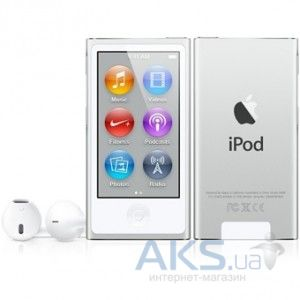 Mp3-плеер Apple iPod Nano 7Gen 16GB (MD480) Silver