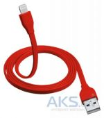 Кабель USB Trust Urban Revolt Lightning Cable 1m Red