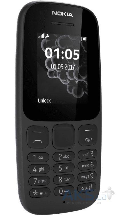d4e8899c9e155 Nokia 105 Dual Sim New (A00028315) Black — купить Nokia 105 Dual Sim ...