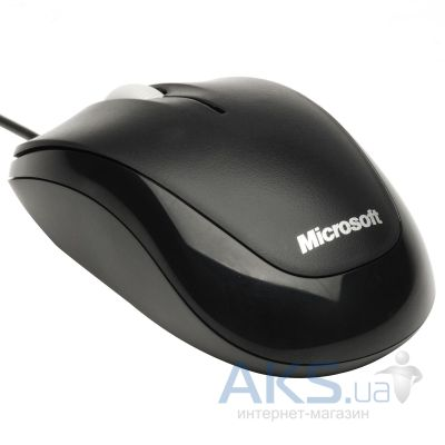 Компьютерная мышка Microsoft Compact Optical Mouse 500 (4HH-00002) Black