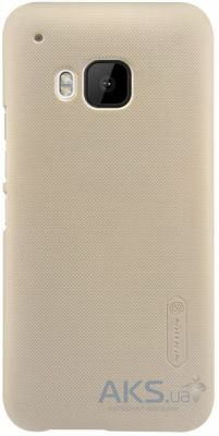 Чехол Nillkin Super Frosted Shield HTC One M9 Gold