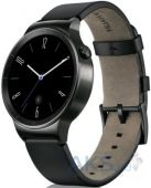 Умные часы Huawei Watch (Black Stainless Steel with Black Leather Strap)