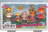 Игрушка Lalaloopsy Mini Веселая компашка Первоклашки (531715)