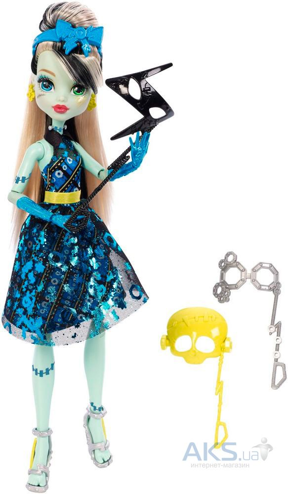 Игрушка Mattel Кукла Фрэнки Штейн Welcome to Monster High (DNX32)