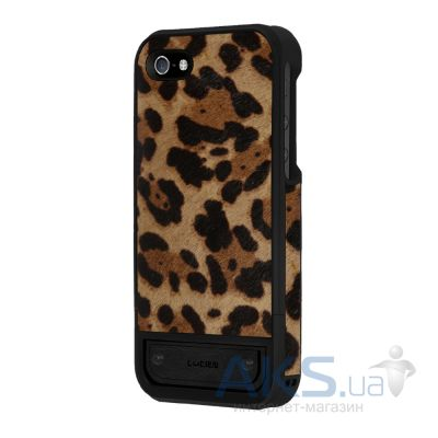 Чехол Lucien Elements Pardus Leather Series for iPhone 5/5S Leopard