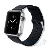 Baseus iWatch Genuine Leather Strap for Apple Watch 42mm Classic (MJ3N2) Black