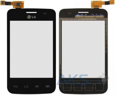 Сенсор (тачскрин) для LG Optimus L3 E435 Black