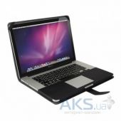 Вид 2 - Чехол Decoded Leather Slim Cover for MacBook Pro Retina 15 Black (D4MPR15SC1BK)