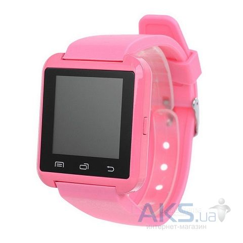 Умные часы UWatch U8 Bluetooth Pink