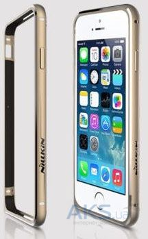 Чехол Nillkin Gothic Series Apple iPhone 6, iPhone 6S Gold
