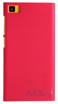 Чехол Nillkin Super Frosted Shield Xiaomi Mi3 Red