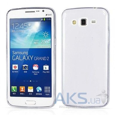 Чехол Original TPU Ultra Thin Samsung G7102 Galaxy Grand 2 Duos Transparent