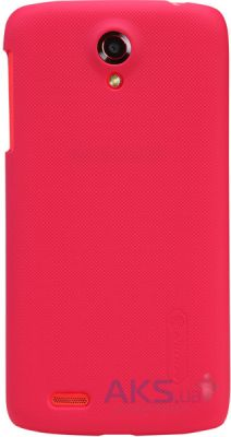Чехол Nillkin Super Frosted Shield Lenovo S820 Red