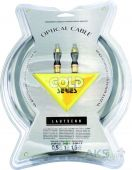 Аудиокабель Lautsenn Optical Gold 1m (G-OP-1) (4410)