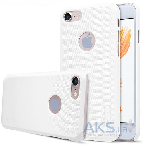 Чехол Nillkin Super Frosted Shield Apple iPhone 7 White