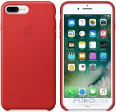 Чехол Apple Leather Case Apple iPhone 7 Plus Red (MMYK2)