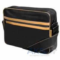 "Сумки для ноутбуков Continent 13"" Computer Bag (CC-063) Black/Gold"