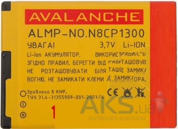 Аккумулятор Nokia BL-4D / ALMP-P-NO.N8CP (1300 mAh) Avalanche