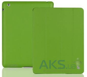 Чехол для планшета JisonCase Executive Smart Cover for iPad 4/3/2 Green (JS-IPD-06H70)