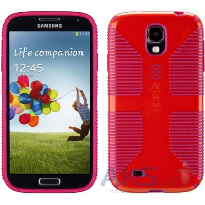 Чехол Speck for Samsung I9500 Galaxy S4 CandyShell Grip Poppy Red/Fuchsia Pink (SPK-A2061)