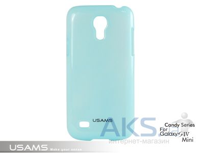Чехол Usams Book Case-Candy for Samsung i9190 Galaxy S4 Mini Green