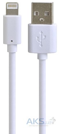 Кабель USB Henca Lighting Cable Sync&Charge White (LD01U-IPH5)