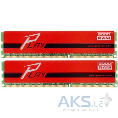Оперативная память GooDRam DDR3 8GB (2x4GB) 1866 MHz Play Red (GYR1866D364L9AS/8GDC)