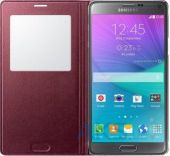 Вид 3 - Чехол Samsung S View для Galaxy Note 4 Red (EF-CN910BREGRU)