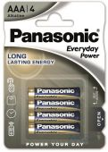 Батарейки Panasonic AAA (R03) Everyday Power 4шт (LR03REE/4BR)