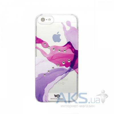 Чехол White Diamonds Liquids Pink Apple iPhone 5, iPhone 5S, iPhone SE (1210LIQ41)