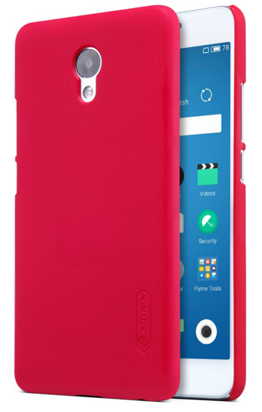 Чехол Nillkin Super Frosted Shield Meizu M5 Note Red