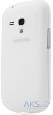 Чехол Capdase Soft Jacket Xpose Tinted for Samsung Galaxy S III mini i8190 White (SJSGI8190-P202)