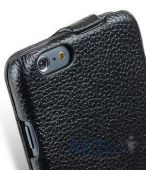 Вид 3 - Чехол Melkco Mini Artificial Leather Case Jacka Type for Apple iPhone 6/6S Black (APIP6FLCJT1BK)