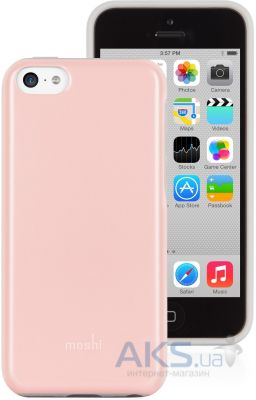 Чехол Moshi Hybrid Case iGlaze Remix Rose Pink for iPhone 5C (99MO069301)