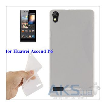Чехол Celebrity TPU cover case for HUAWEI P6 White