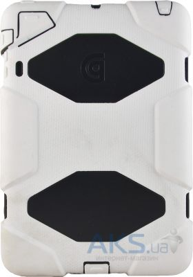 Чехол для планшета Griffin Survivor military-duty case and stand for iPad mini White/Black