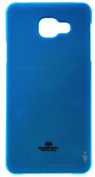 Чехол Mercury Jelly Color Series Samsung A710 Galaxy A7 2016 Blue