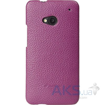 Чехол Melkco Snap leather cover for HTC One Purple (O2O2M7LOLT1PELC)